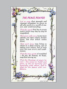 Holy Verse Cards (pkt100): Peace Prayer