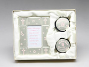 Baby First Tooth and Curl Gift Set - Pink
