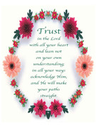 Holy Cards (pkt100): Trust