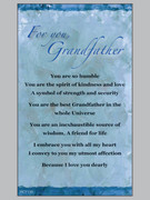 Laminated Holy Cards: Grandfather