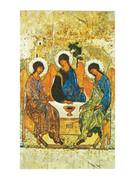 Laminated Holy Cards: Icon Trinity
