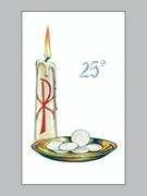 Laminated Holy Cards: 25th Anniversary #3