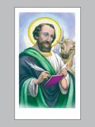 Holy Cards (pkt100): Evangelist Luke