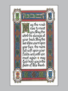 Holy Cards (pkt100): Irish Blessing #2