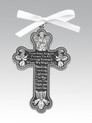Crib Medal: Cross Guardian Angel