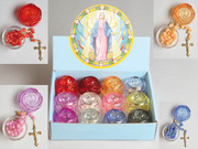 Retail Display: Birthstone Rosary 12 pieces (RX0083)