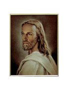 10 x 8 Print:  HEAD OF CHRIST