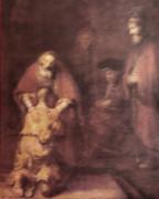 Wood Framed Print: The Prodigal Son