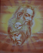 10 x 8 Print: Holy Trinity Sketching