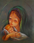 10 x 8 Print: Mother and Child