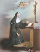 10 x 8 Print: St Rita