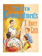 Childrens Book (StJPB): #287 The Ten Commandments
