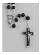 Wooden Rosary: Black 8mm (RXL02K)