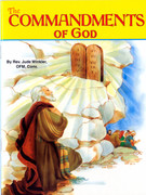 Childrens Book (StJPB): #514 The Commandments