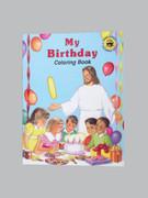 Childrens Colouring Book (StJCB) - My Birthday