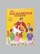 Childrens Colouring Book (StJCB) - The Sacraments