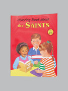 Childrens Colouring Book (StJCB) - The Saints