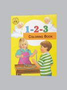 Childrens Colouring Book (StJCB) - 1-2-3