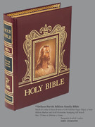 Bible: Deluxe Parish Edition Family Bible: Burgandy
