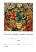 While Stock Lasts: Confirmation Certificate: Apostles (CEF5811)