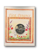Reconciliation First Penance Pin Lamb (TT028)