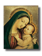 Quality Wood Plaque: Our Lady Good Counsel (PL102GC)