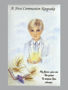 Communion Keepsake: Communion Boy White Cover