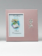 Communion Gift: Small Metal Frame Girl(PL0480CG)