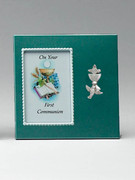 Communion Gift, Small Metal Frame Boy(PL0473CB)