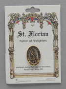 Patron Saint Pin: St Florian Patron of Firefighters