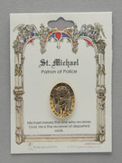 Patron Saint Pin: St Michael Patron of Police
