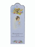 Bookmark: Communion Boy