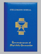 Children's Missal, Padded Cover 1st Communion Blue
