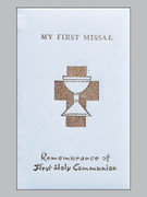 Children's Missal, Padded Cover 1st Communion White
