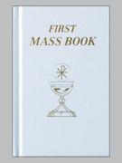 """Children's Missal: """"First Mass Book""""  Hardback White"""