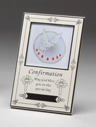 Confirmation Gift, Antique White Small Photo Frame(PLF1869)