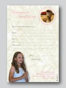 Invitation Set: Communion Girl (20)(INC6697)