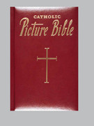 Children's Bible: New Catholic Picture Bible (Red)