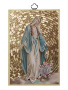 Gold Foil Wood Plaque: Miraculous (PL1707)