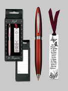 Gift Set Female: Bookmark &amp; Pen: Serenity 