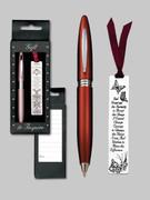 Gift Set Female: Bookmark & Pen: Serenity