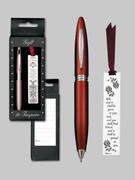 Gift Set Female: Bookmark & Pen: Ask...Seek...Knock