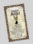 Thinking of You Angel Pin: Wedding