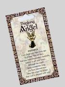 Thinking of You Angel Pin: Faithful