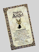 Thinking of You Angel Pin: Granddaughter