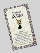 Thinking of You Angel Pin: Travel