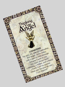 Thinking of You Angel Pin: Godmother