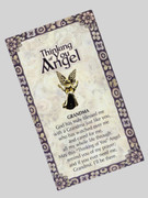 Thinking of You Angel Pin: Grandma