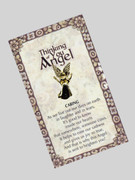 Thinking of You Angel Pin: Caring