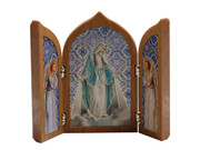 Small Tri-fold Plaque: Miraculous (PL11207)